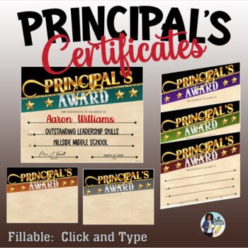 Principal's Awards Set