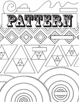 Principle of Design, Pattern, Review Worksheet: Fill in the Blank Review