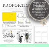 Proportion, Principles of Design Visual Art Mini Lesson