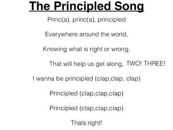 Principled Song (Instrumental)