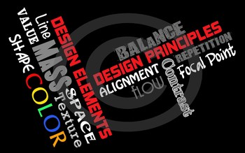 Principles & Elements of Design Poster