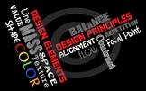Principles & Elements of Design Poster