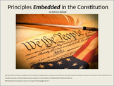 Principles Embedded in Constitution (CCSS 4.41, 4.50)