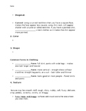 Principles and Elements of Design Guided Notes