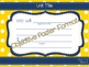 Principles of Ag Objectives Blue and Gold Polka Dot