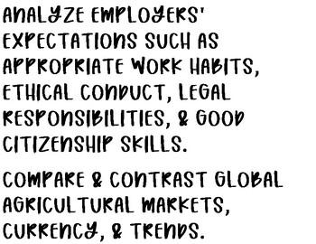 Principles of Ag TEKS