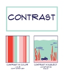 Principles of Art Poster: Contrast