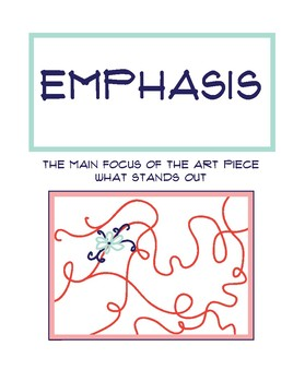 Principles of Art Poster: Emphasis