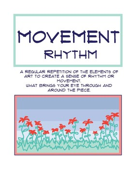 Principles of Art Poster: Movement