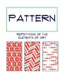 Principles of Art Poster: Pattern
