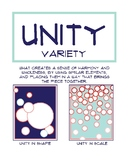 Principles of Art Poster: Unity