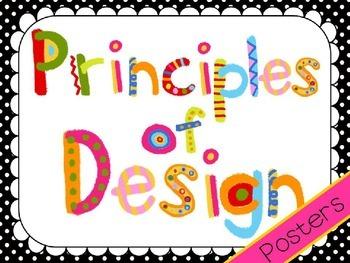 Principles of Art Posters *EDITABLE*