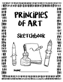 Principles of Art Sketchbook