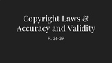 Principles of Arts: Copyright Laws and Accuracy & Validity Slideshow