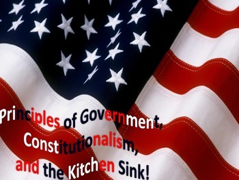 Principles of Constitutionalism (Constitution) or Government
