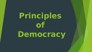 Principles of Democracy Powerpoint