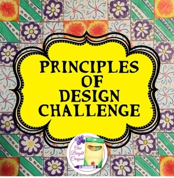 Principles of Design Challenge – Art Lessons with Handouts