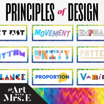Principles of Design | Classroom Visuals