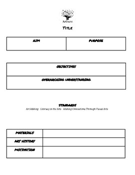 Lesson and Unit Plan Template