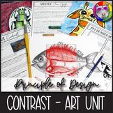 Principles of Design: Contrast, Art Unit
