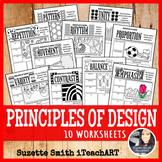 Principles of Design Handouts Worksheets for Middle School