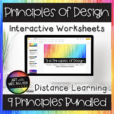 Principles of Design Interactive Google Slide Worksheet Bu