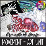 Principles of Design: Movement, Art Unit