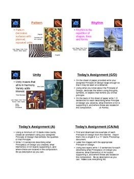 Principles of Design (PDF Notes)