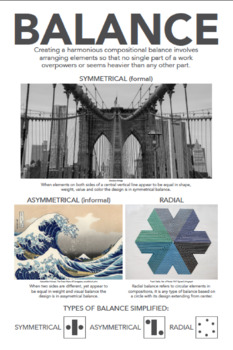 Principles of Design Posters - 7 Posters