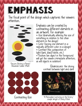 """Principles of Design Posters - Printable Package (8.5""""x11"""" and 18""""x24"""")"""