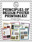 """Principles of Design Posters - Printable Package (8.5""""x11"""""""