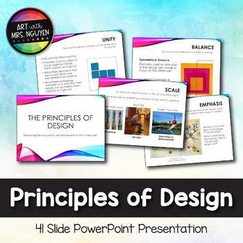 Principles of Design (Art) PowerPoint