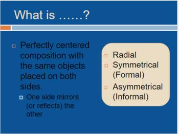 Principles of Design Presentation with Quiz