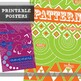 Principles of Design Posters: 11 Modern and Bright Printable Posters
