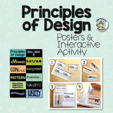 Principles of Design Posters & Interactive Sketchbook Activity