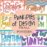 Principles of Design Small Posters by Taracotta Sunrise