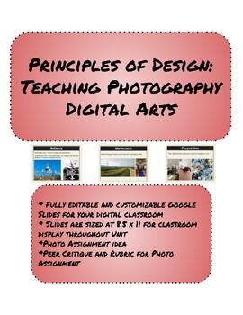 Principles of Design: Teaching Photography Digital Arts