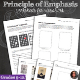 Principles of Design Worksheets - Principle of Emphasis Mi