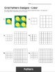 Principles of Design Worksheets - Principle of Pattern & Pattern Mini-Lessons