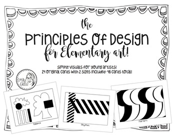 Principles of Design for Elementary Art