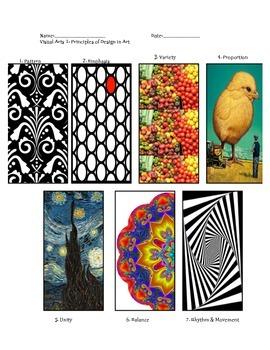 Principles of Design in Art Handout