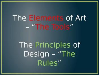 Principles of Design in Art PowerPoint
