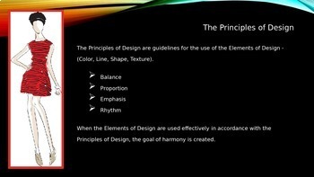 Principles Of Design In Fashion By The Fcs Shoppe Tpt