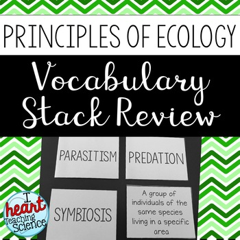 Principles of Ecology Review Activity