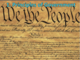 Principles of Government (U.S. Government) Bundle with Video