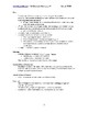 Principles of Thermochemistry - Quick Review Facts and Handout