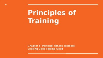 Principles of Training PPT by Brittany Riddle | Teachers Pay