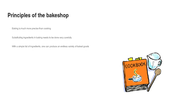 Principles of the Bakeshop