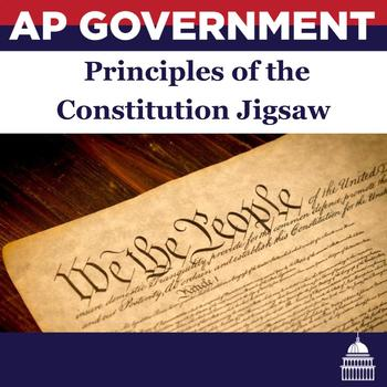 Principles of the Constitution Jigsaw Lesson