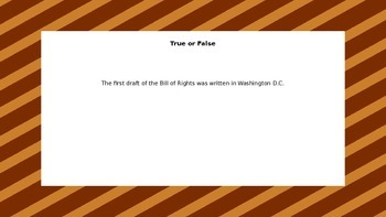 Principles of the Constitution: Bill of Rights - Amendments 6-10